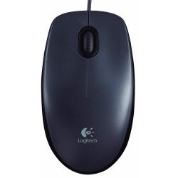 Logitech M90 Optical Mouse Black Usb