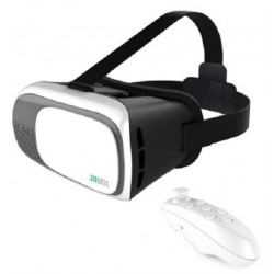 Gafas de Realidad Virtual Omega Universal 3D con mando