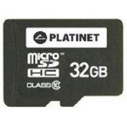Tarjeta MicroSD 32GB Platinet PMMSD3210