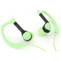 Auriculares Platinet Sport + Mic Verde