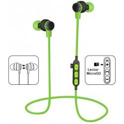Auriculares Bluetooth Platinet PM1061G Verde