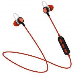 Auriculares Bluetooth Platinet Sport PM1068R Rojo