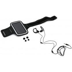 Auriculares y Brazalete Fitness Platinet PM1070B Negro