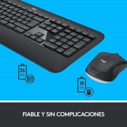 Teclado y Raton Wireless Logitech MK540 Advanced