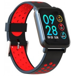 Smartwatch Leotec MultiSport Helse Color Rojo