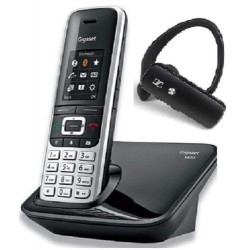 Telefono Inalambrico Gigaset S850 con Auricular Bluetooth