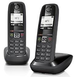 Telefono Inalambrico Gigaset AS405 Duo