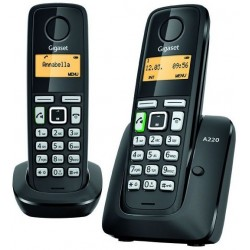Telefono Inalambrico Gigaset A220 Duo