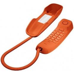 Teléfono Fijo Gigaset DA210 Naranja