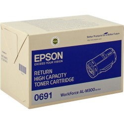 Tóner Epson C13S050691 Negro