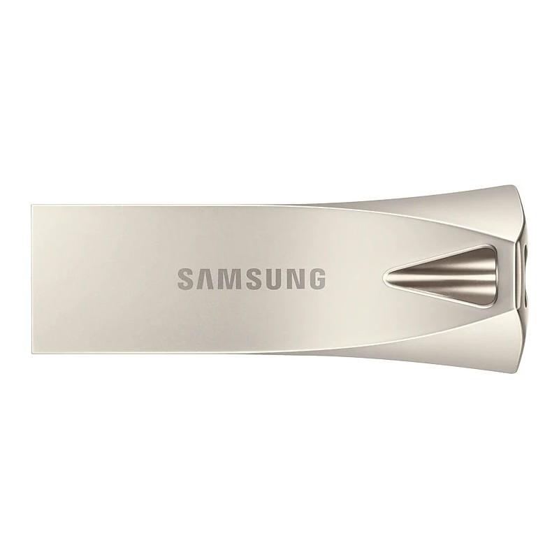 Pendrive de 256GB 3.1 Samsung Bar Titan Silver Plus