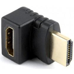 Adaptador HDMI H/M Ángulo 270º hacia arriba Cablexpert