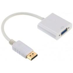 Adaptador DisplayPort M a VGA H Cablexpert Blanco
