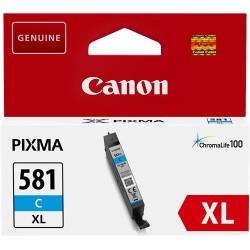 Tinta Canon 581XL Cian CLI-581CXL