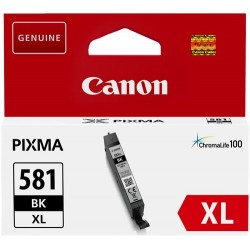 Tinta Canon 581XL Negro CLI-581BKXL