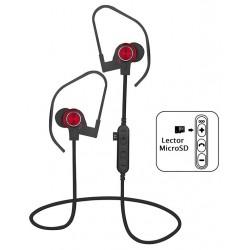 Auriculares Bluetooth Platinet PM1062R Rojo