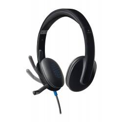 Auriculares Logitech Headset H540 USB