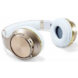 Auriculares y Altavoces Bluetooth Conceptronic Eligio Dorado