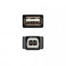Adaptador USB AH a USB BM Nanocable