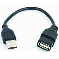 Cable USB AM - USB AH 0,15m Cablexpert