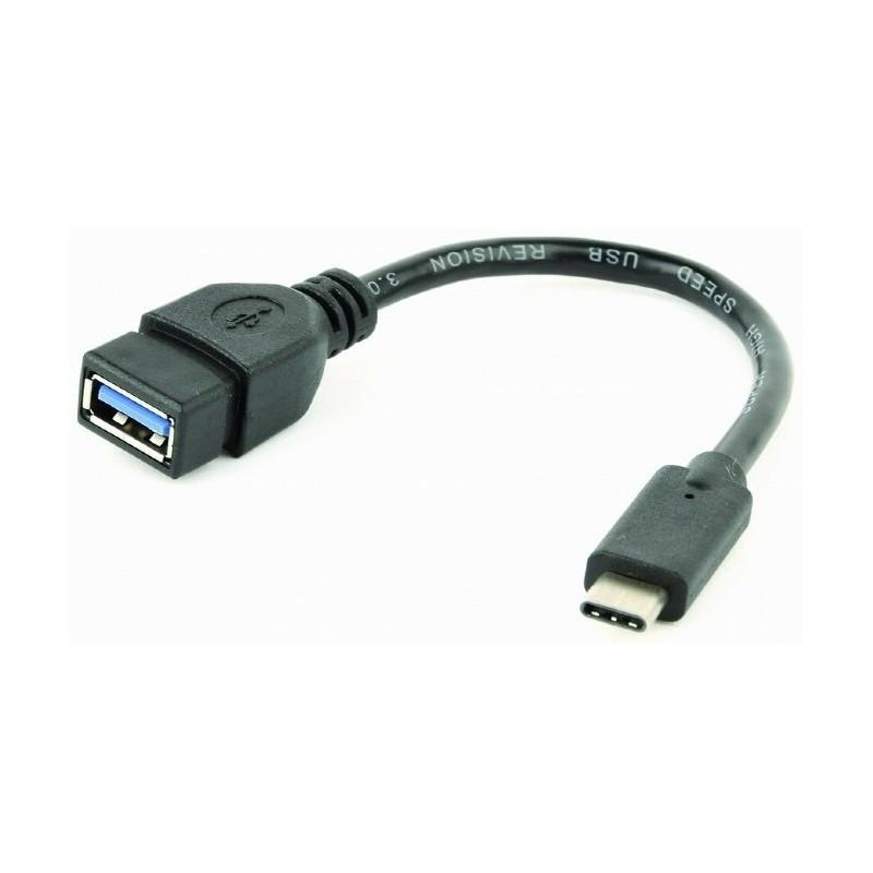 Cable USB 3.0 OTG H - TypeC M 0,20m Cablexpert
