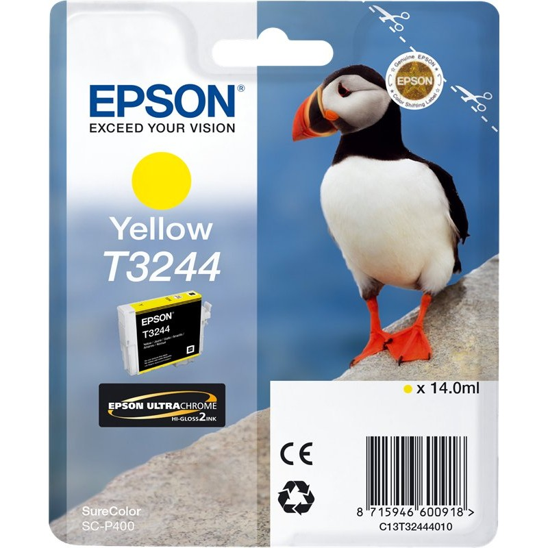 Tinta Epson T3244 Amarillo
