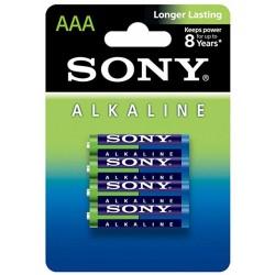 Pila AAA Sony Alcalina 4 Unidades