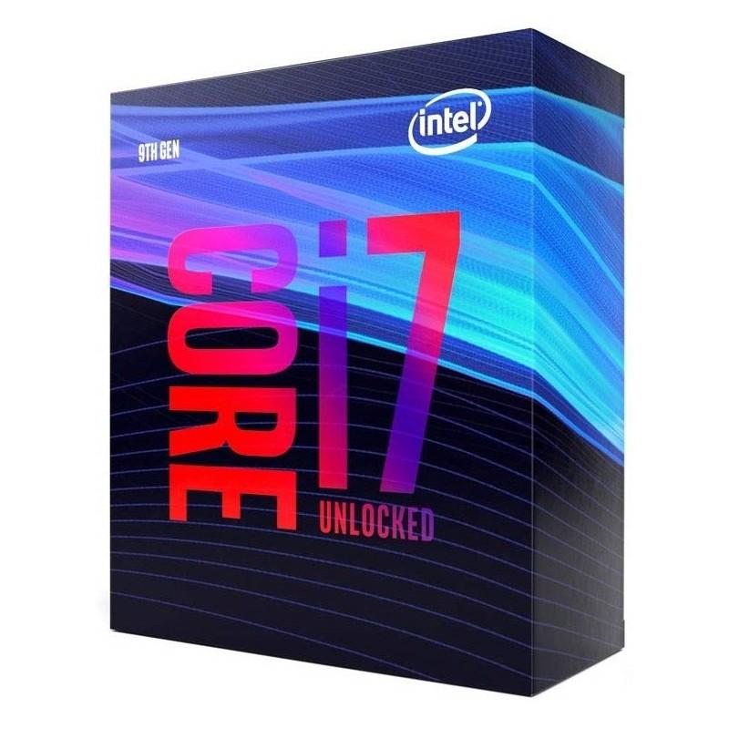 Procesador Intel Core i7 9700K 3,6 Ghz LGA1151
