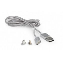 Cable USB  de Carga 8pin - MicroUSB 1m Cablexpert