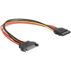 Cable Alimentacion SATA M / SATA H 0,50m Cablexpert