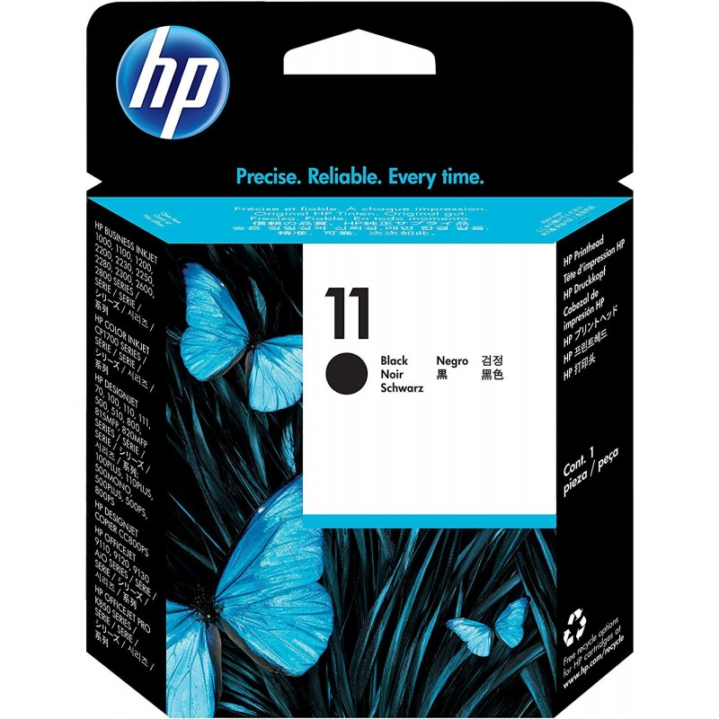 Cabezal de Impresion HP 11 Negro C4810A