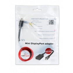 Adaptador Mini DisplayPort M a DisplayPort H Cablexpert Negro