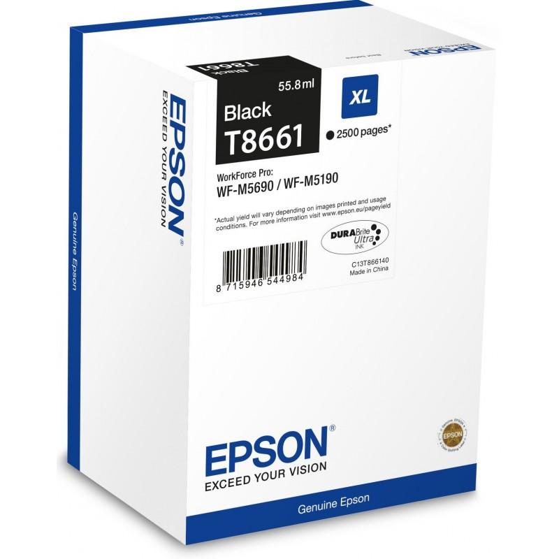 Tinta Epson T8661 Negro