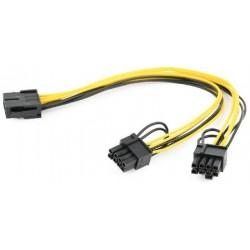 Cable Alimentacion PCIe 8 pines / 2x PCIe 6+2 pines Cablexpert