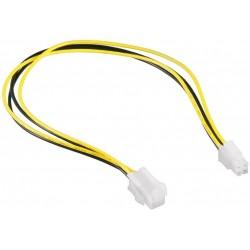Cable Alimentacion ATX 4 pines M/H 0,3m Cablexpert