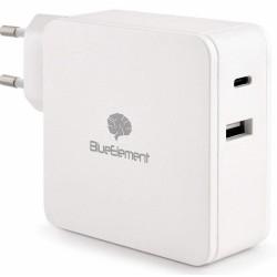 Cargador USB/TypeC Bluestork Charger 60