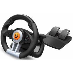 Volante y Pedales Nox Krom K-Wheel Multiplataforma