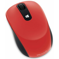 Ratón Wireless Microsoft Sculpt Rojo