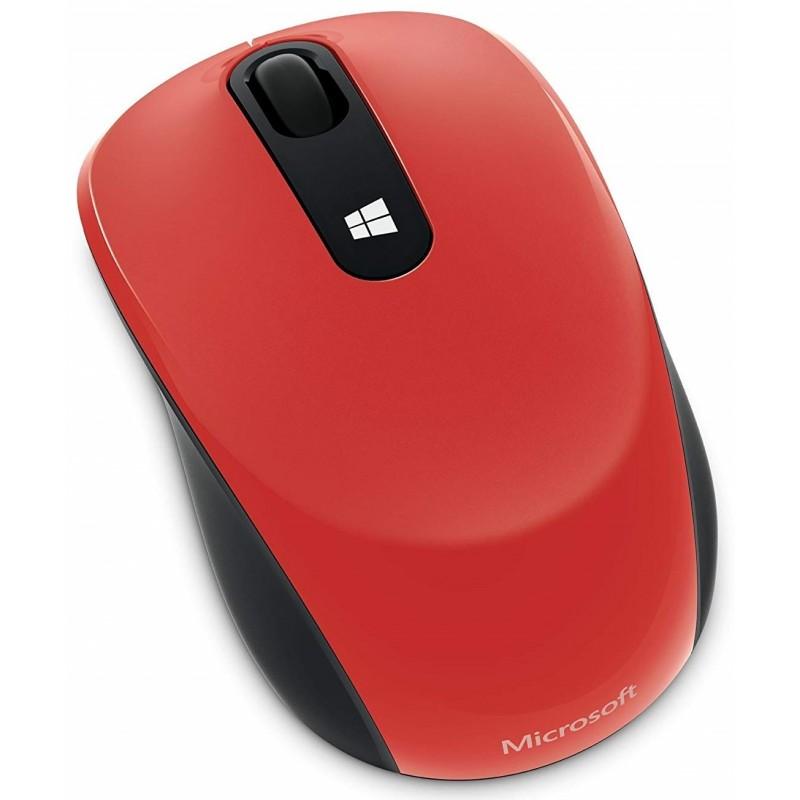 Raton Wireless Microsoft Sculpt Rojo