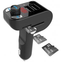 Kit de Coche 3en1 Bluetooth/Transmisor FM/Cargador 3.1A Gembird