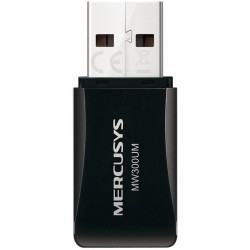 Adaptador USB Wireless Mercusys MW300UM