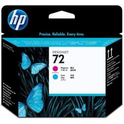 Cabezal de Impresión HP 72 Cian/Magenta C9383A