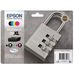 Tinta Epson 35XL Pack de los 4 Colores T3596