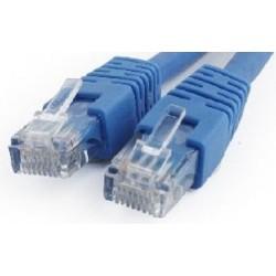 Latiguillo de Red Cat.6 UTP 0,25m Cablexpert Azul