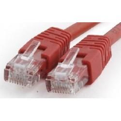 Latiguillo de Red Cat.6 UTP 0,5m Cablexpert Rojo