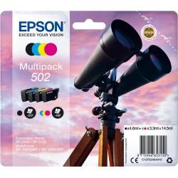 Tinta Epson 502 Pack de los 4 Colores