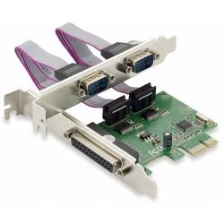 Tarjeta PCIe 1 Paralelo y 2 Serie Conceptronic