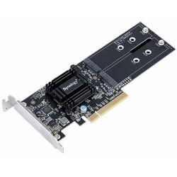 Tarjeta PCIe Adaptador Doble M.2 SSD Synology M2D18