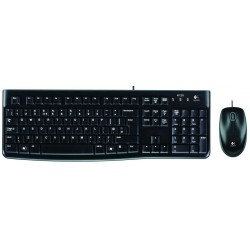 Teclado y Raton Logitech MK120 English UK