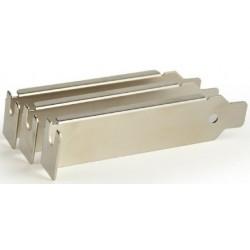 Bracket PCI/PCIe sin Ventilación Gembird x3 Unidades